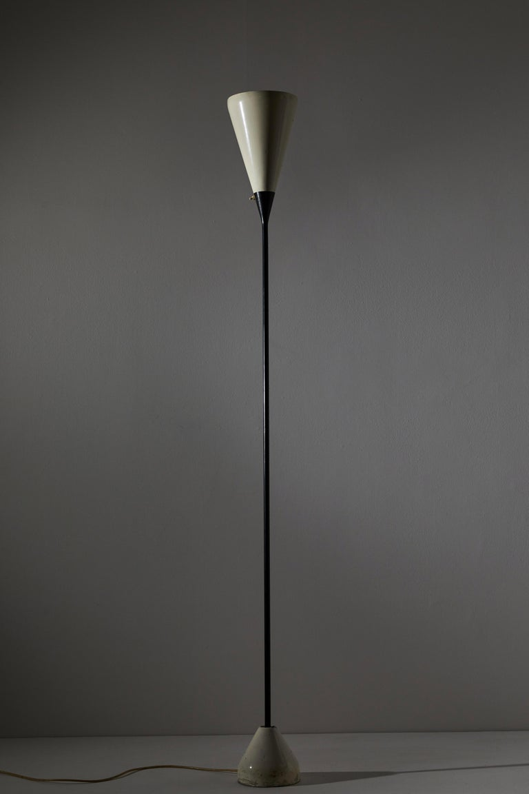 Model No. B-30 Floor Lamp by Franco Buzzi for Oluce In Good Condition For Sale In Los Angeles, CA