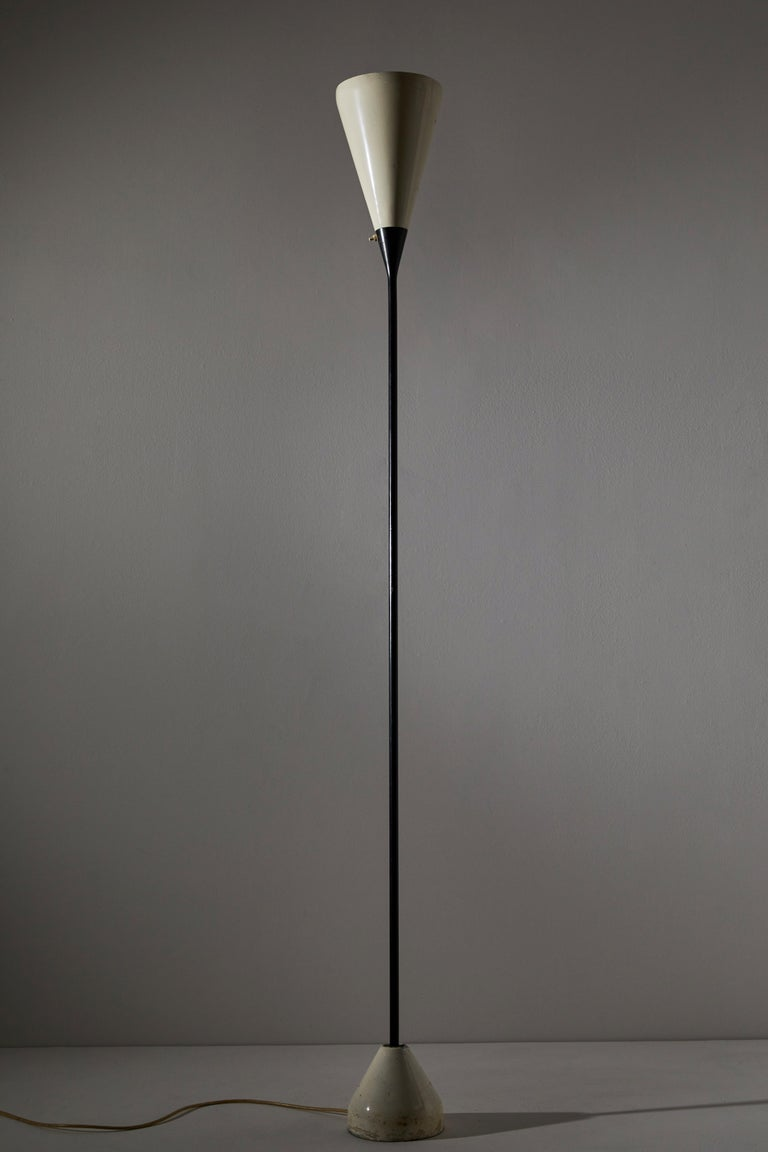Mid-20th Century Model No. B-30 Floor Lamp by Franco Buzzi for Oluce For Sale