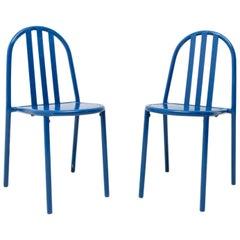 Model No.222 Bauhaus Chairs by Robert Mallet-Stevens, 1960s