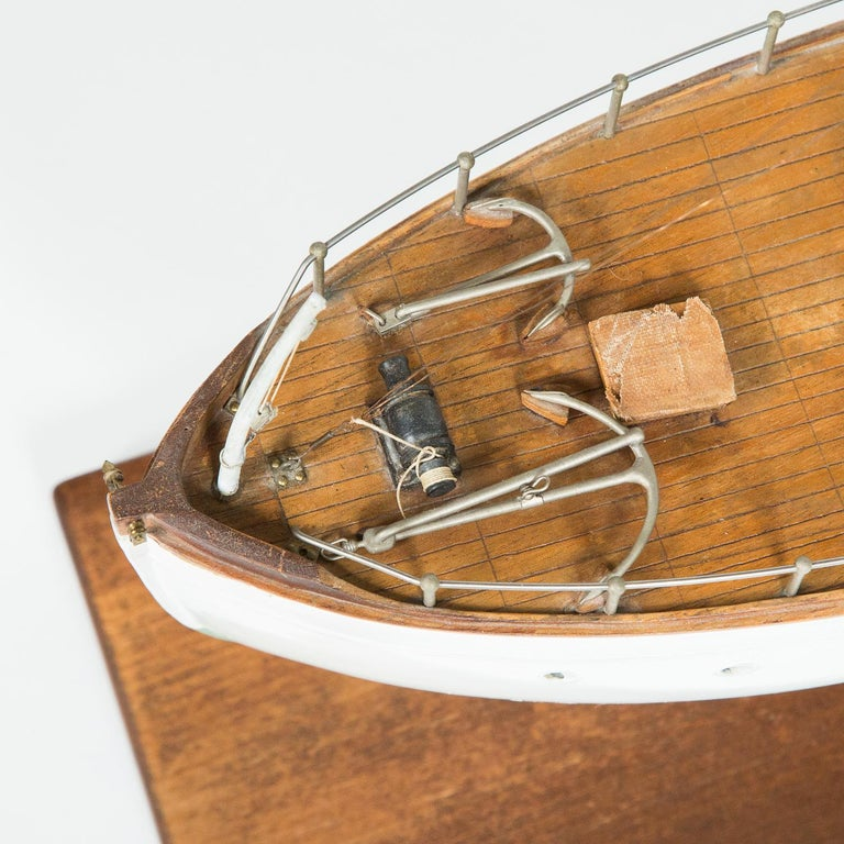 Model of a ship, made by F W Murray. For Sale 7