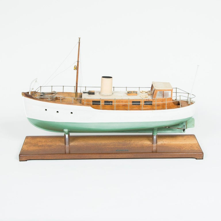 English  Model of a ship, made by F W Murray. For Sale