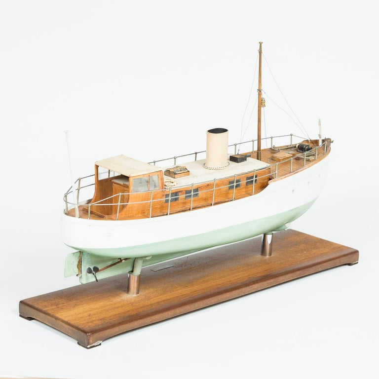 20th Century  Model of a ship, made by F W Murray. For Sale
