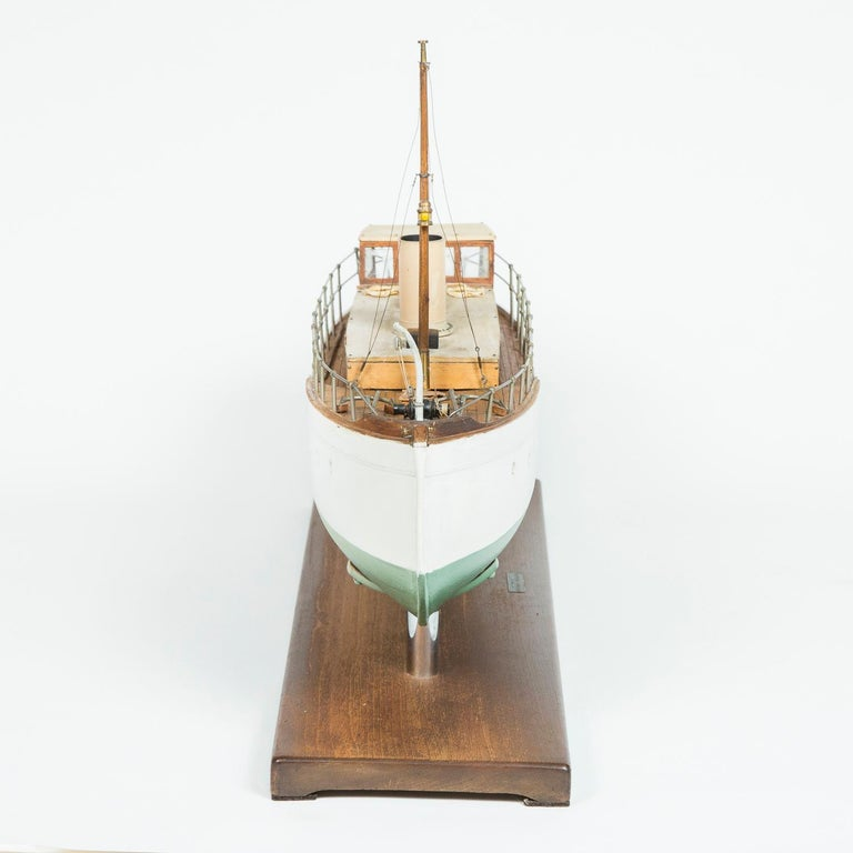 Paint  Model of a ship, made by F W Murray. For Sale