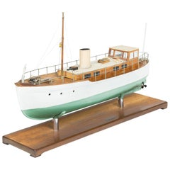 Model of a ship, made by F W Murray.