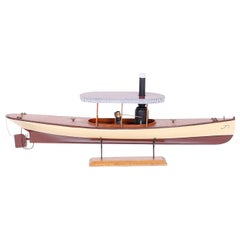 Model of a Steam Powered Boat or Launch