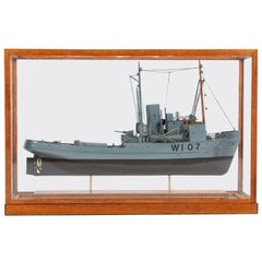 Model of a WWII Admiralty Rescue Tug