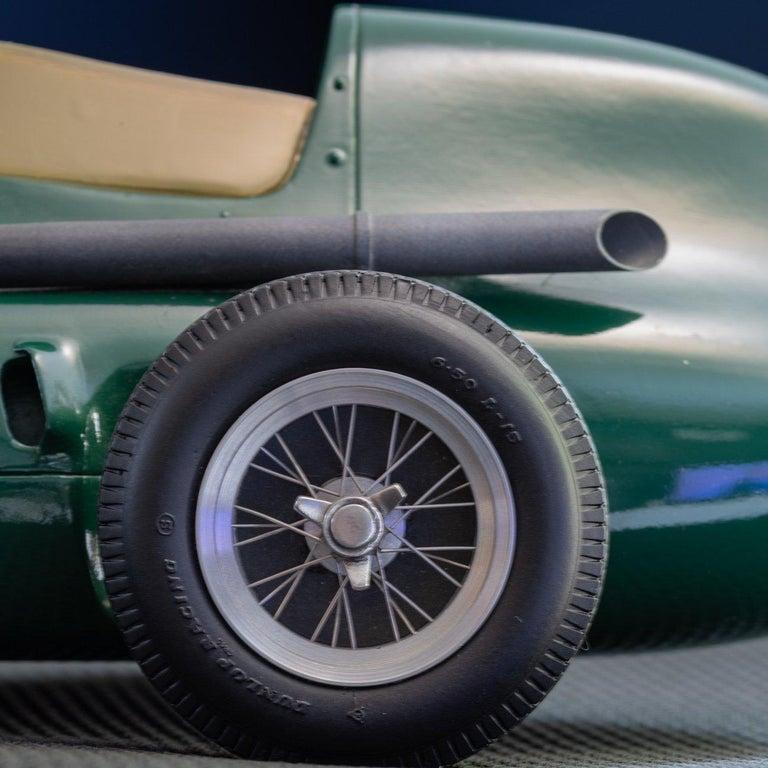 Metal Model of the Formula One Vanwall Racing Car For Sale