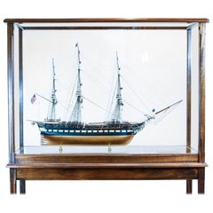 Model of the USS Constitution Old Ironsides