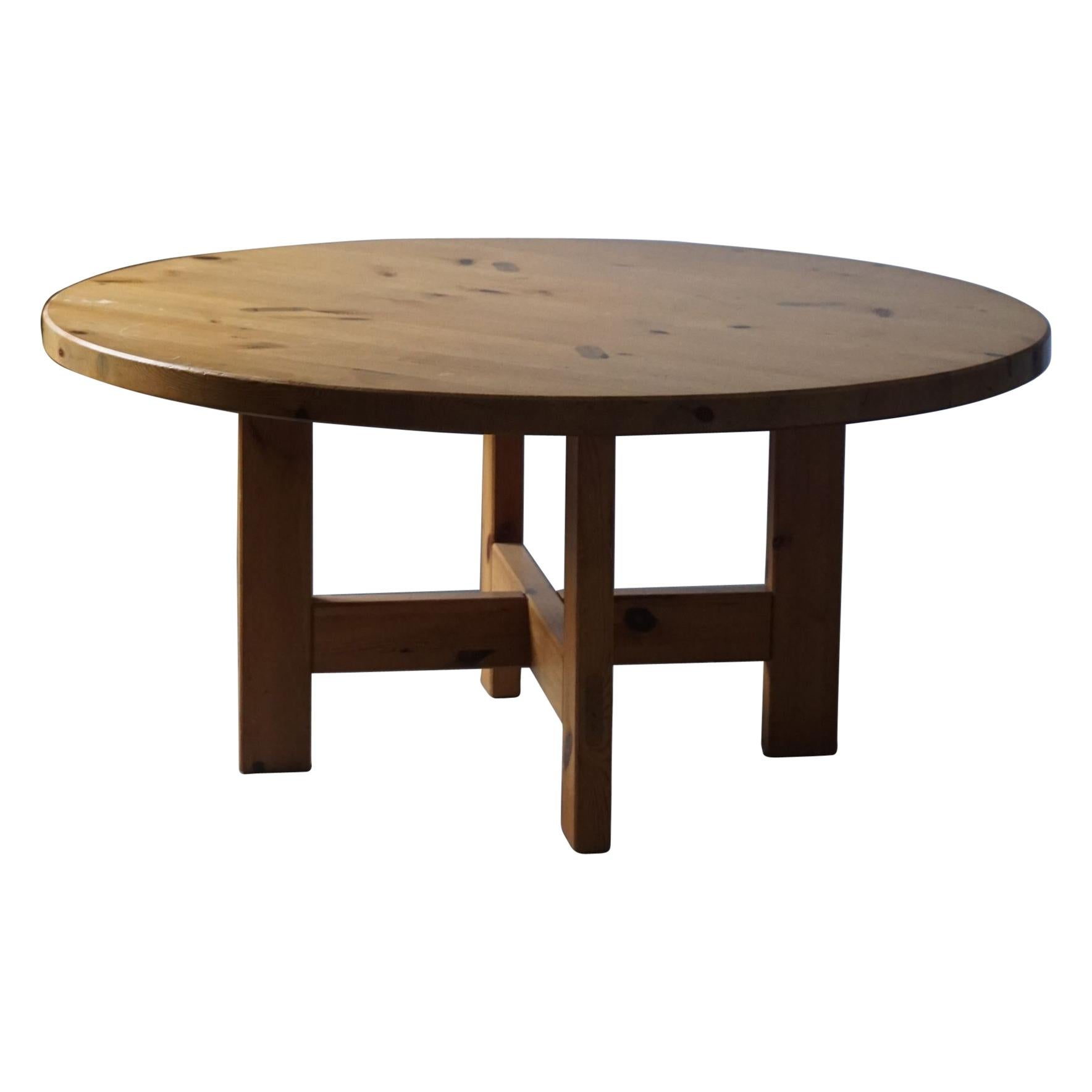 Model RW 152 Pine Dining Table by Roland Wilhelmsson for Karl Andersson & Søn