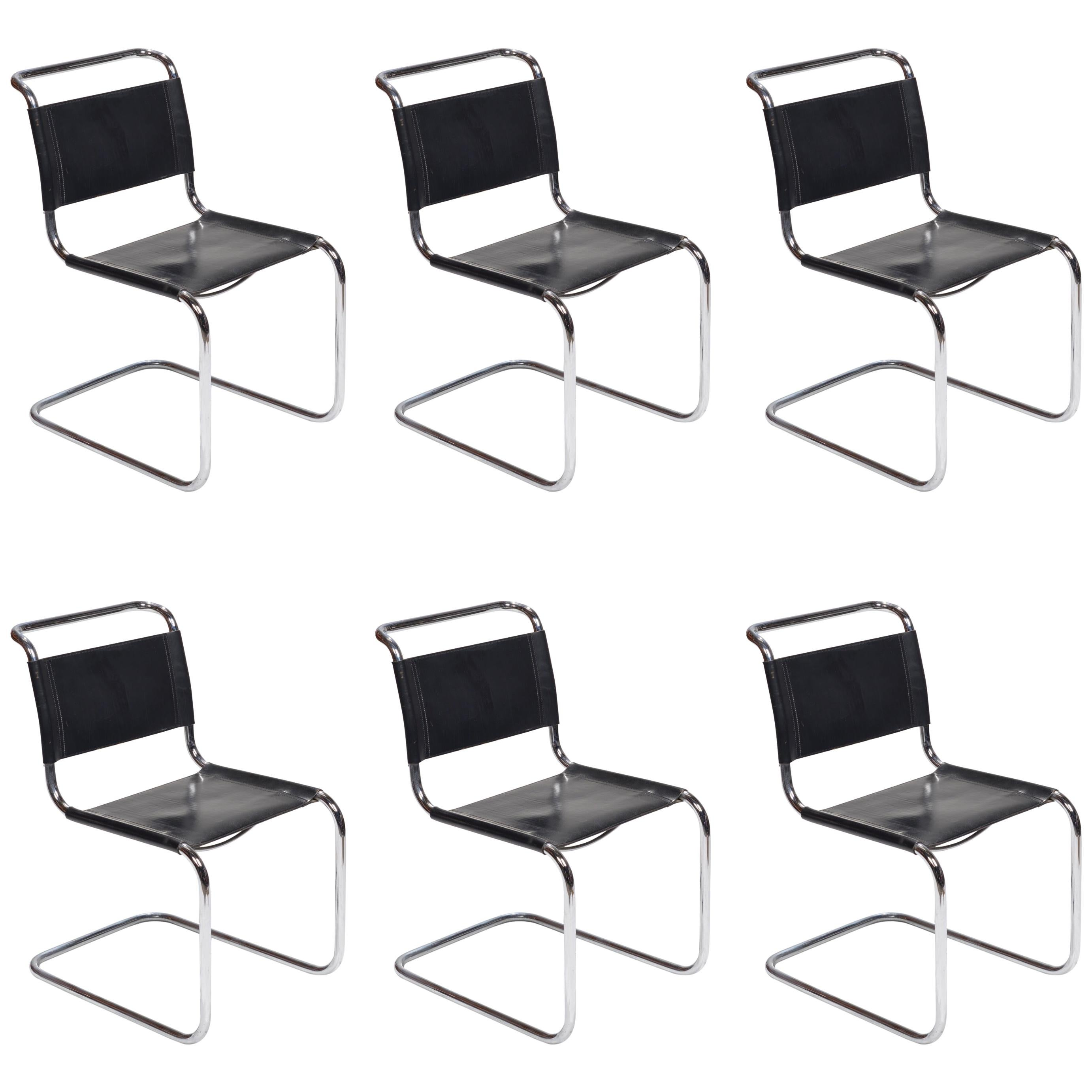 Model S33 Cantilever Chairs by Mart Stam for Fasem