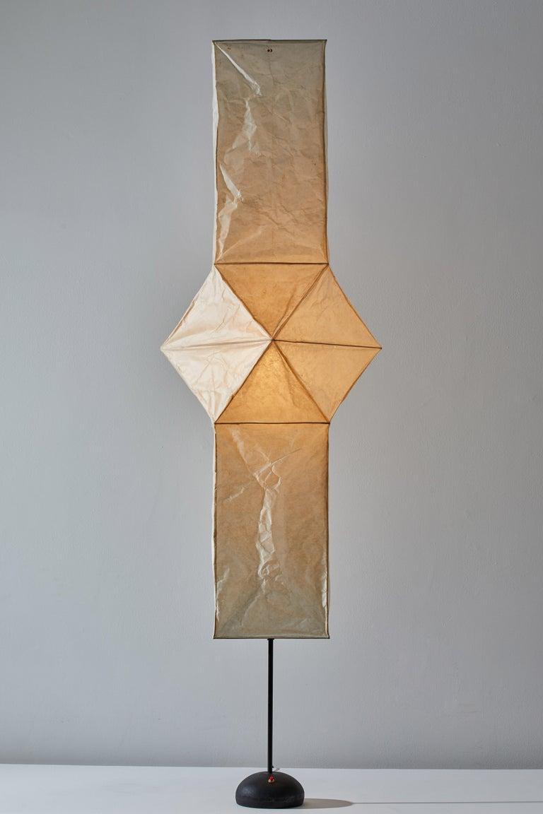 Mid-Century Modern Model UF4-L5 Floor Lamp by Isamu Noguchi for Akari For Sale