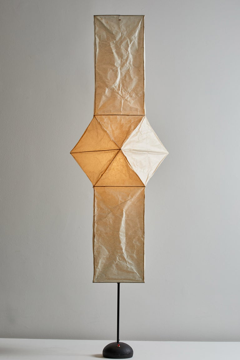 Japanese Model UF4-L5 Floor Lamp by Isamu Noguchi for Akari For Sale