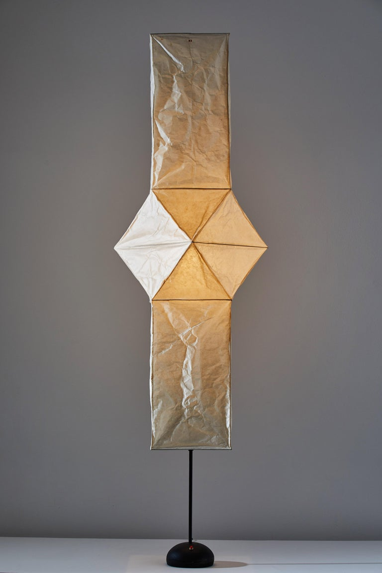 Model UF4-L5 Floor Lamp by Isamu Noguchi for Akari In Good Condition For Sale In Los Angeles, CA