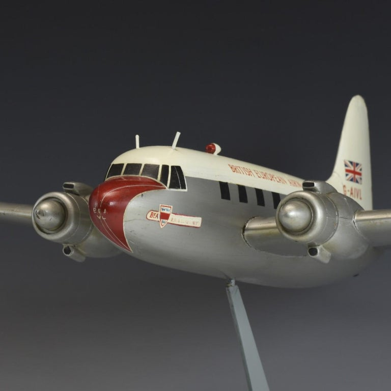 Mid-20th Century Model 'Vickers Viking' Aircraft, circa 1950 For Sale
