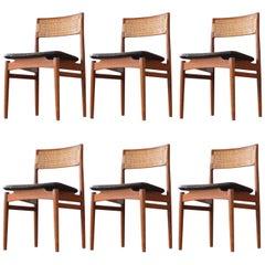 Model W26 Erik Wørts Side Chairs