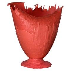 Model XXXL N. 002/2004 Vase by Gaetano Pesce, 2004, Salmon, Limited Edition