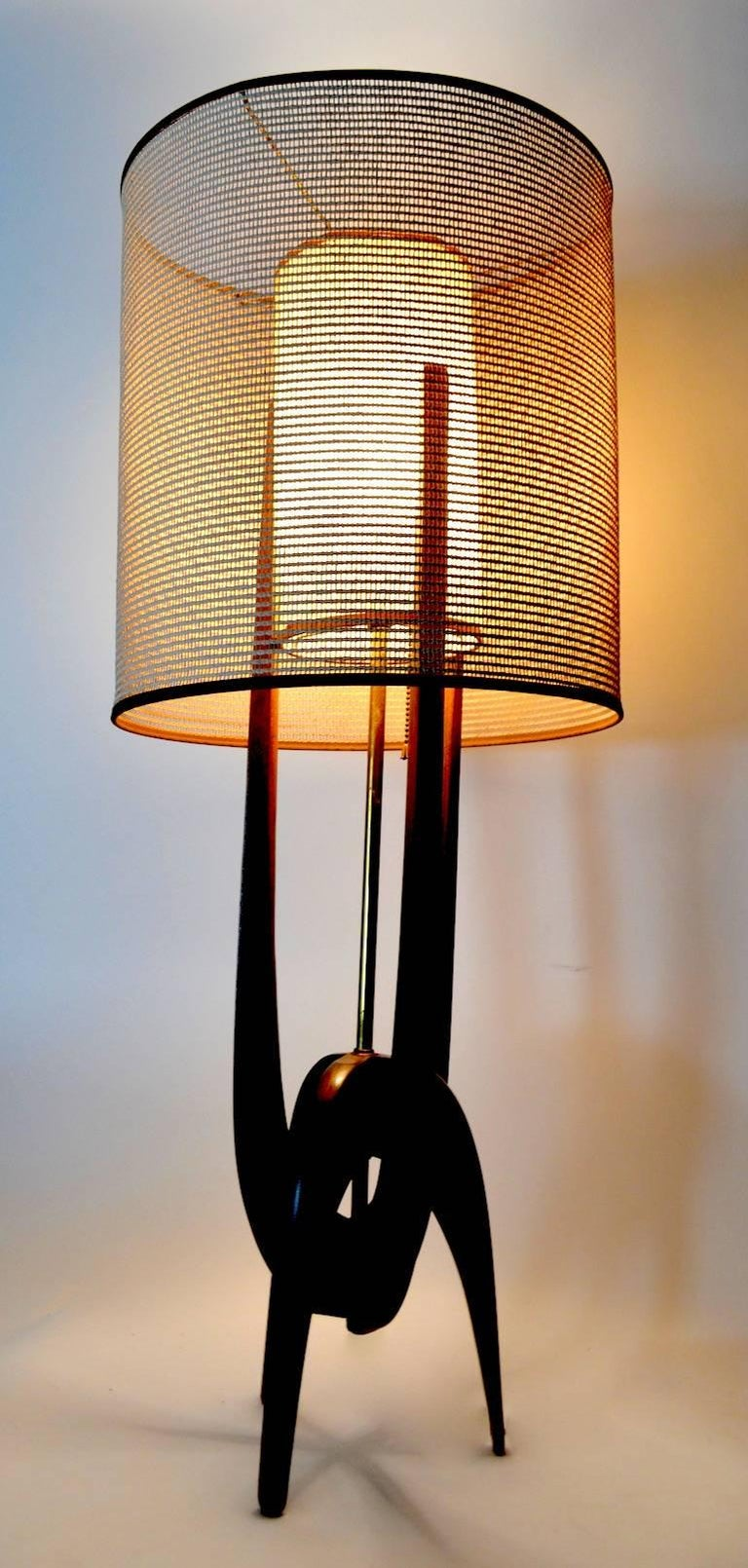 20th Century Modeline Lamp by Pearsall For Sale