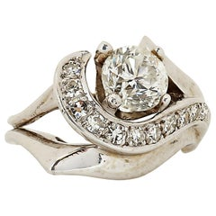 Modern 1.50 Carat Diamond Ring