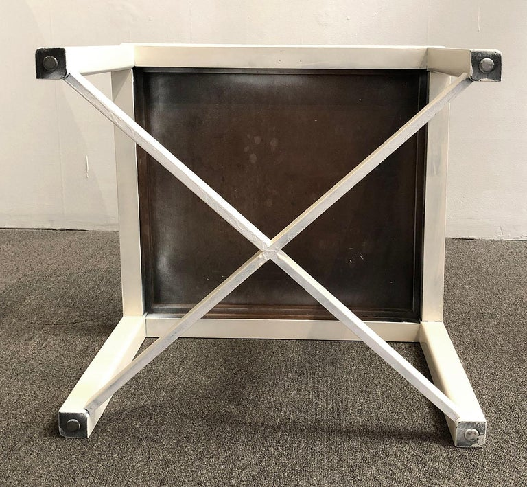 American Vintage 1940s Lacquered Table For Sale