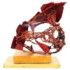 Modern Abstract Brutalist Sculpture
