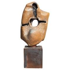 Modern Abstract Freeform Ceramic Sculpture