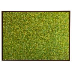 """Modern Abstract Mixed-Media on Canvas Painting """"Pray 0719"""", Hyunae Kang"""