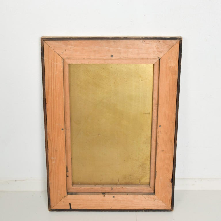Modern Abstract Patinated Brass Bronze Wall Art by Raul Monje, 2003 For Sale 2