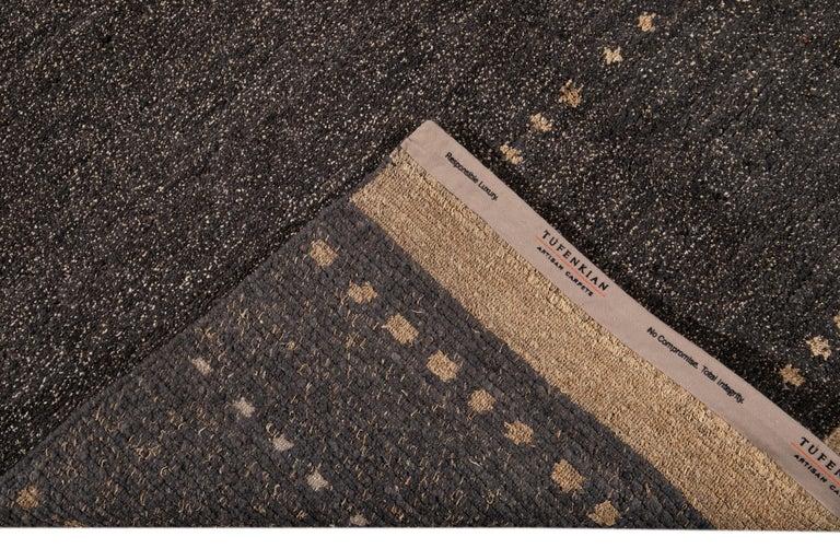 Modern Abstract Tibetan Room Size Wool Rug For Sale 8