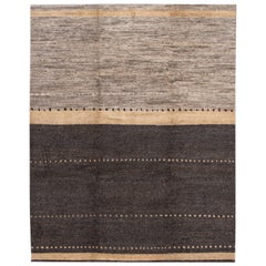 Modern Abstract Tibetan Room Size Wool Rug