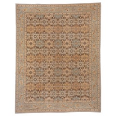 Modern Afghan Hand Knotted Carpet, Allove Field