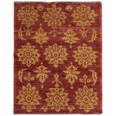 Modern Afghan Rug, Handmade Carpet Repeat All-Over Living Room Rugs for Sale