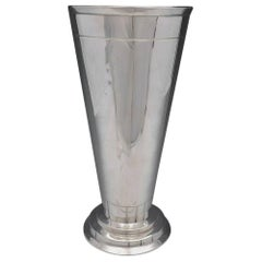 Modern American by Eric Magnussen Sterling Silver Vase #A14072 '#4605'