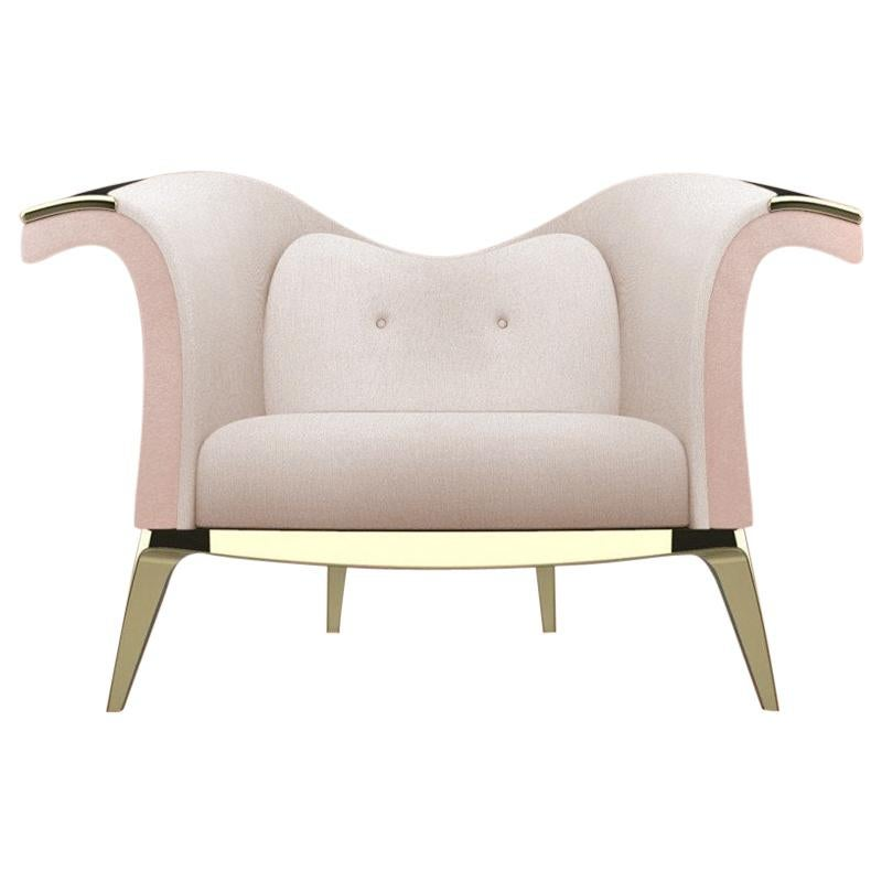 Modern and Comfortable Armchair or Club Chair, Theatre Chair