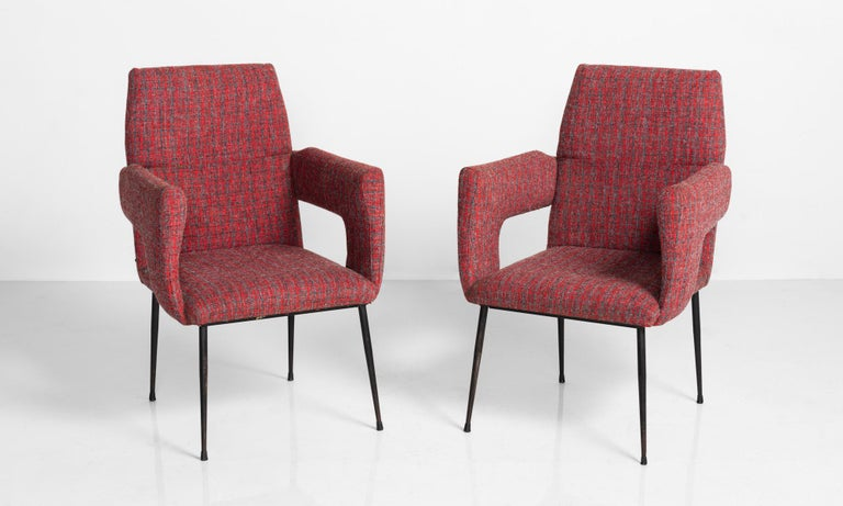 Modern Armchairs, Italy circa 1950.