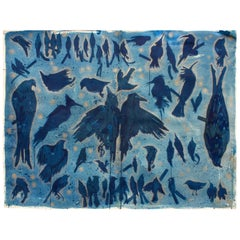 Modern Art Cyanotype by Maggie Wheelock
