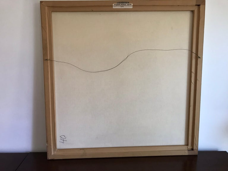 Geometric Hard-Edge Painting, 20th Century In Good Condition For Sale In Los Angeles, CA