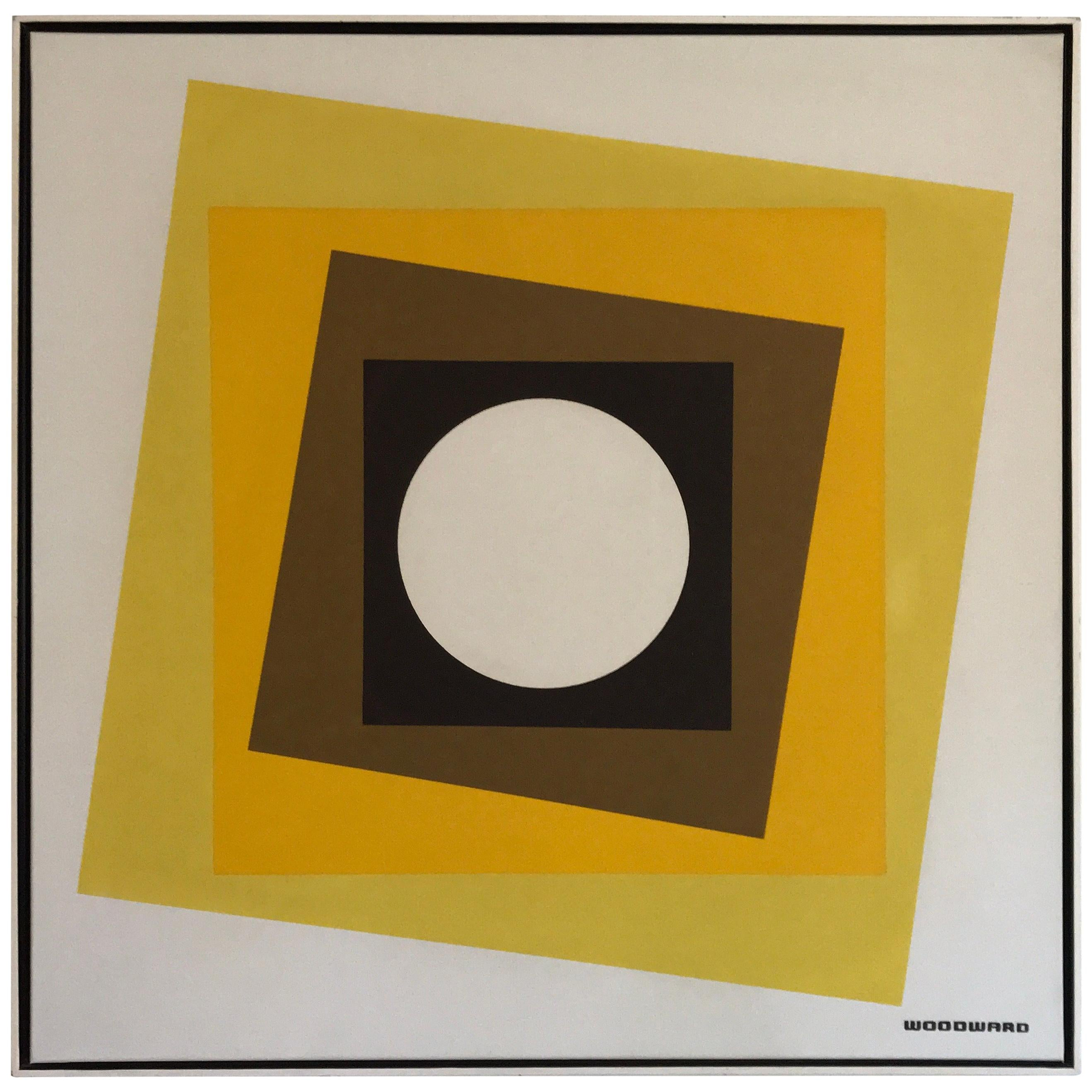 Geometric Hard-Edge Painting, 20th Century