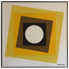 Geometric Hard-Edge Painting, 20th Century