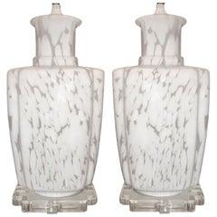 Modern Art Glass Lamps