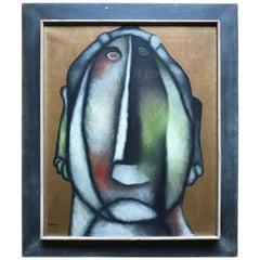 Modern Art Painting by 'Berman 1957'