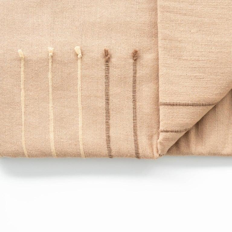 TERRA Throw /  Blanket In Soft Merino For Sale 3