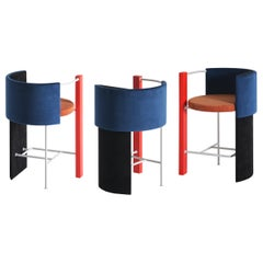 "Modern Bar ""Apart"" Chairs, Set of 3"
