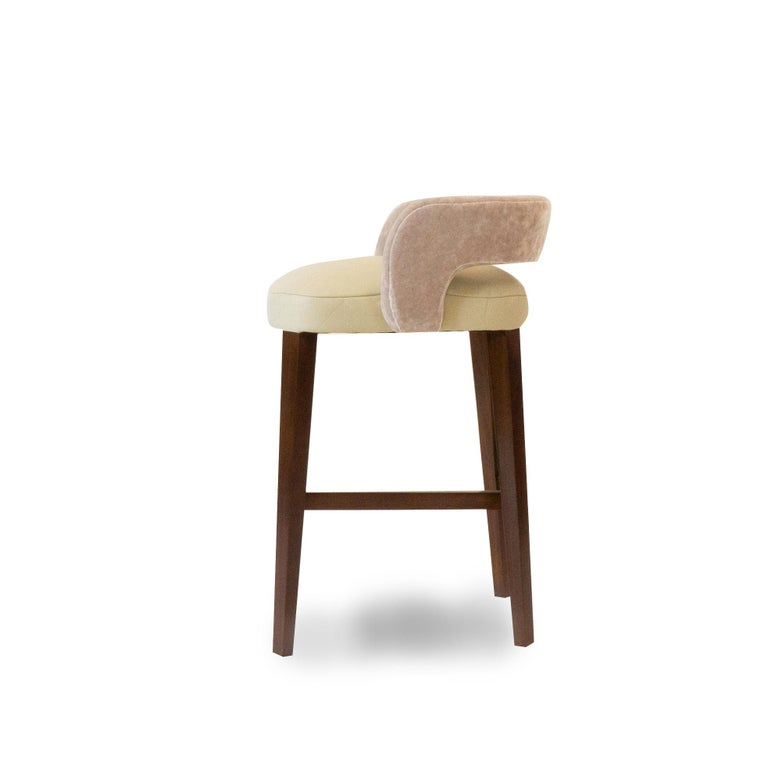 Modern Bar Stool In New Condition For Sale In Greenwich, CT