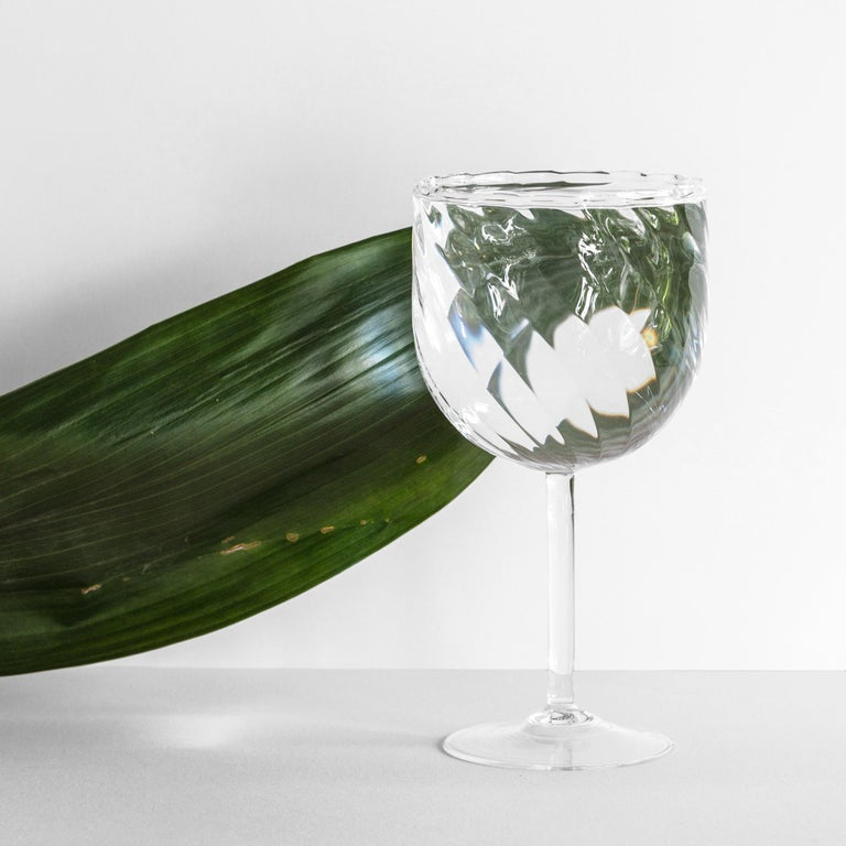 It's a decorative glass, yes,  but it is also a