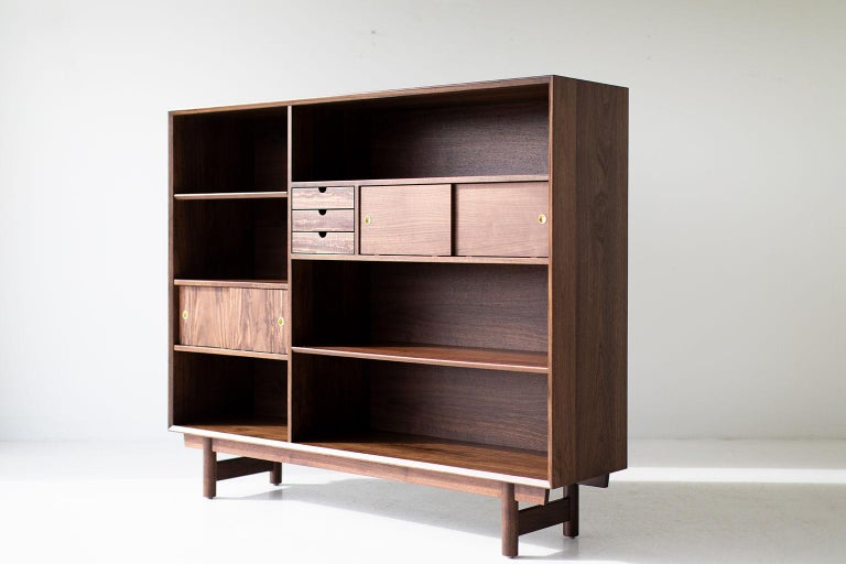 Modern Bookcase Cabinet The Peabody Collection For Sale 7
