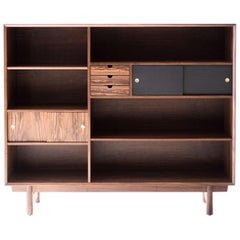 Modern Bookcase Cabinet The Peabody Collection