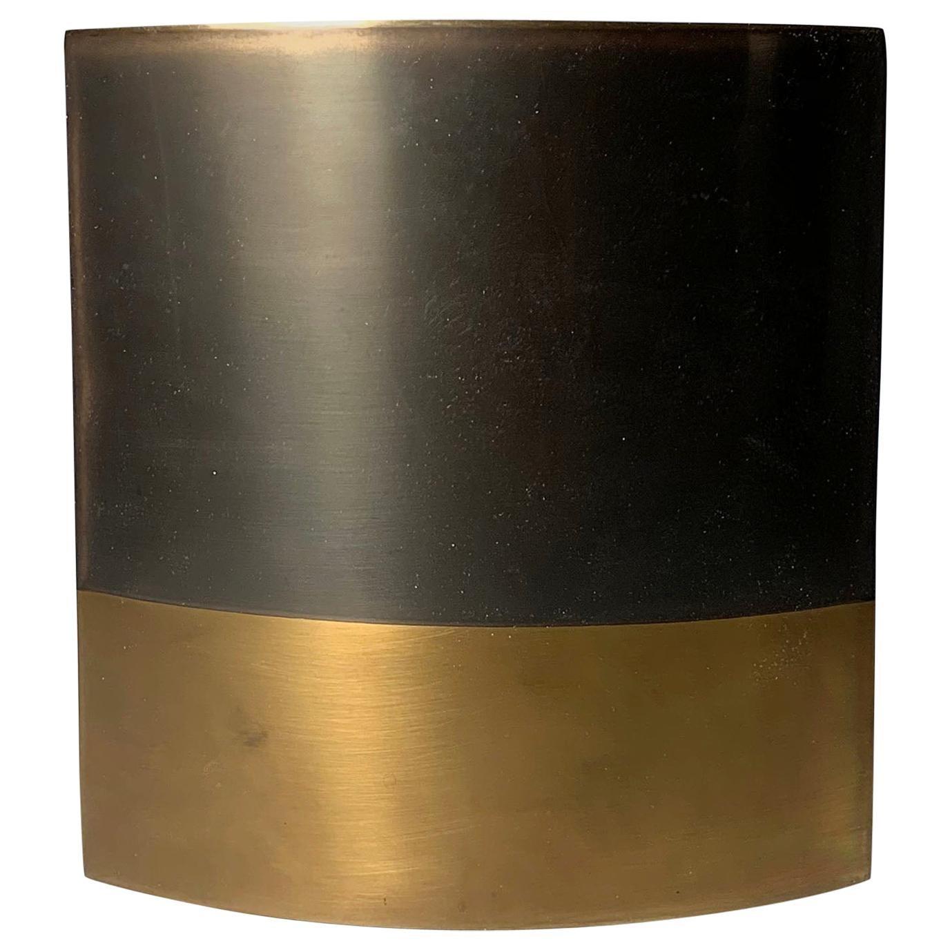 Modern Brass Candleholder / Vase by Michael Aram