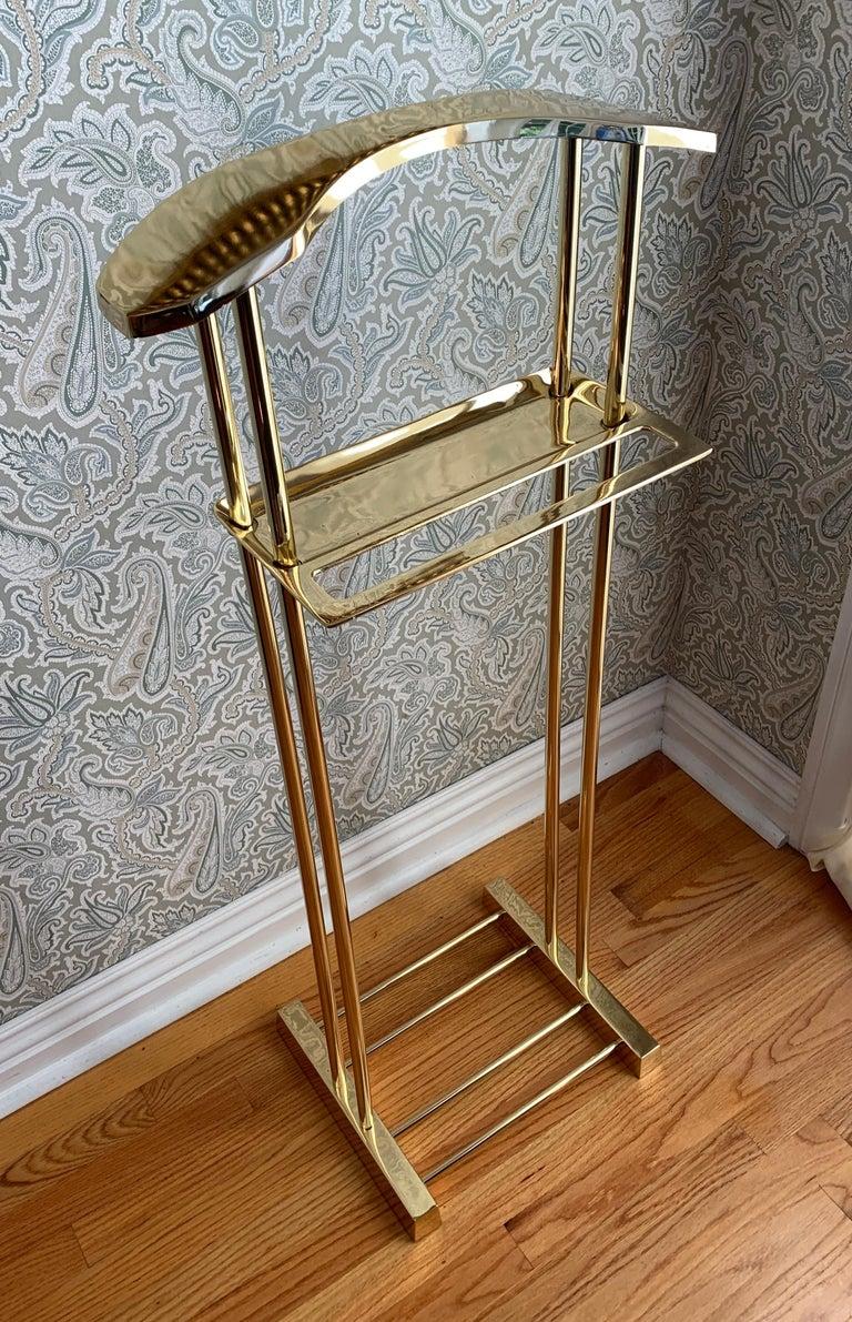 Modern Brass Valet For Sale 5