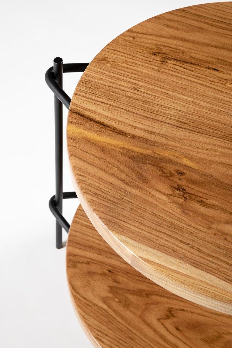 Post-Modern Minimalis Brazilian side table in solid wood