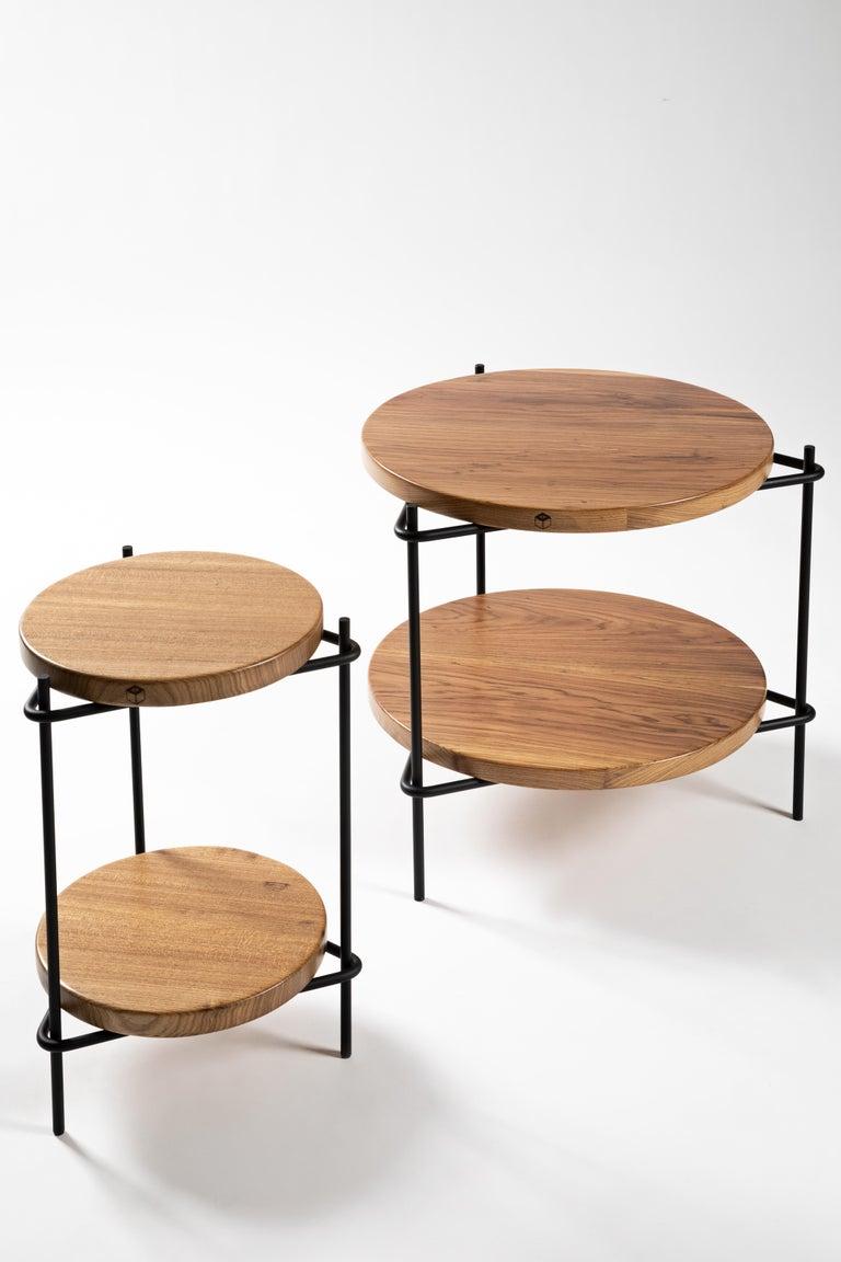 Minimalis Brazilian side table in solid wood